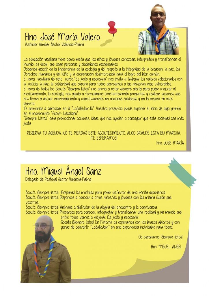 Miguel Angel y José María